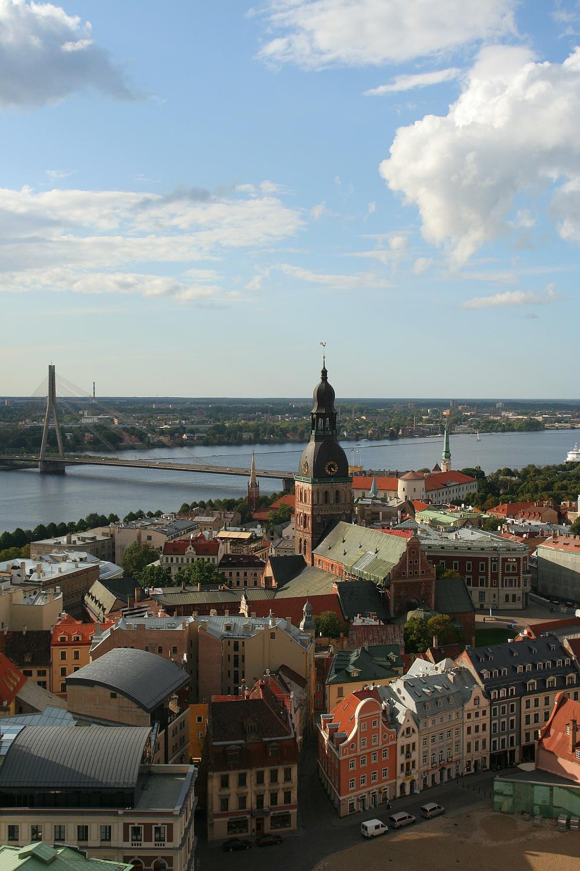 Riga From Above Via @Atisgailis