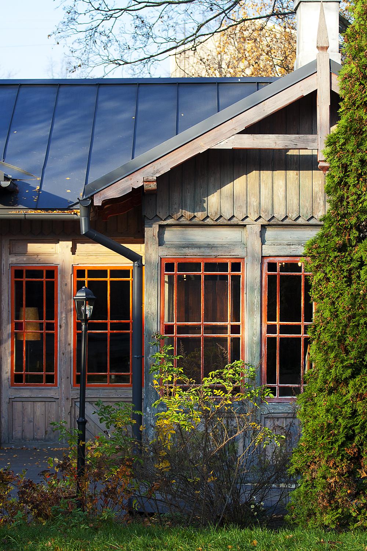 Wooden House Via @Atisgailis