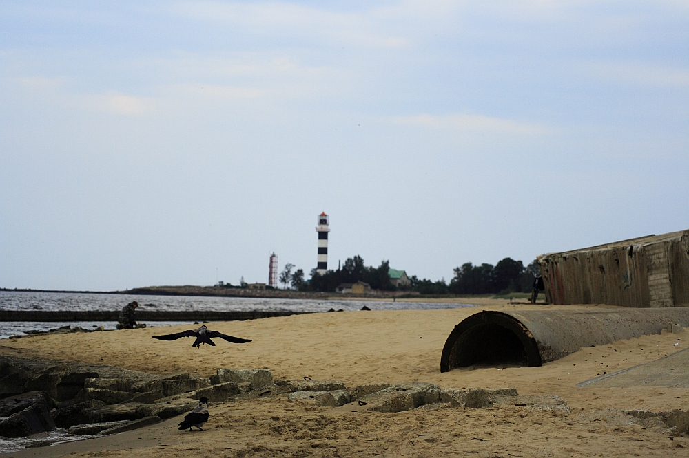 Daugavgrīva Lighthouse Via @Atisgailis