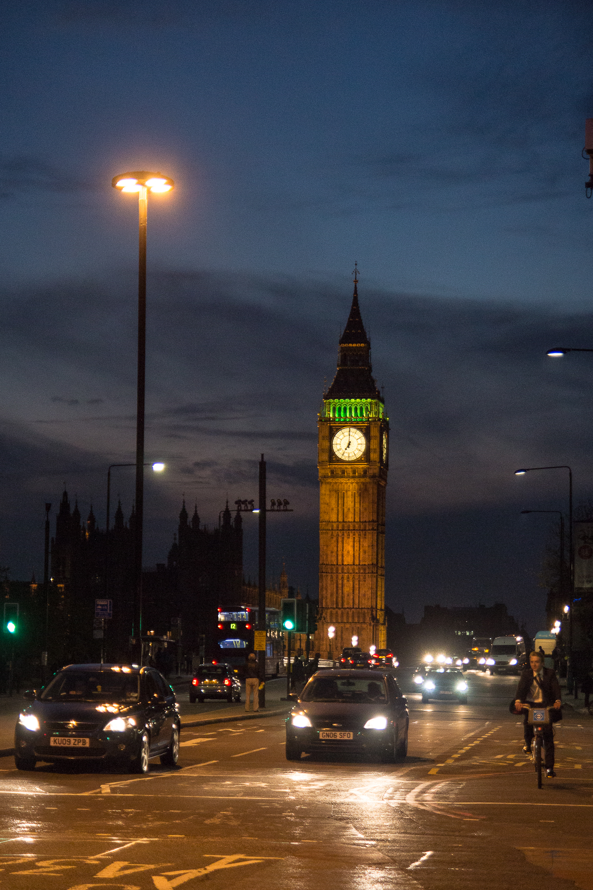 Big Ben At Night Via @Atisgailis