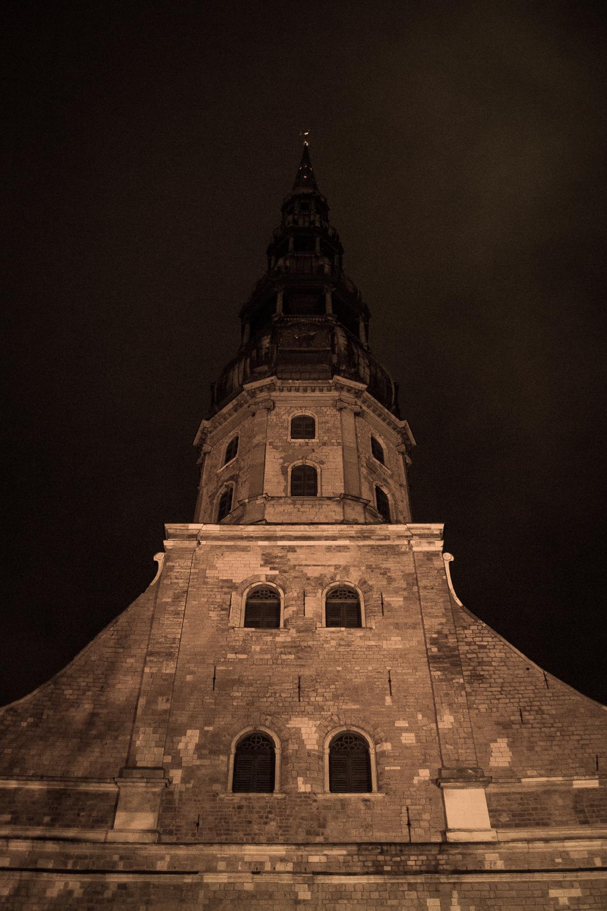 St. Peter'S Church Tower Via @Atisgailis