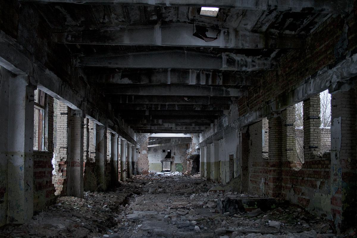Abandoned Workshop Via @Atisgailis