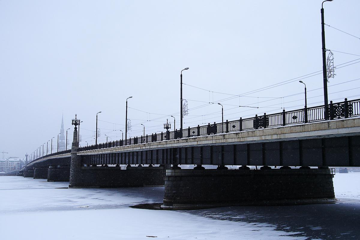 Bridge In Winter Via @Atisgailis
