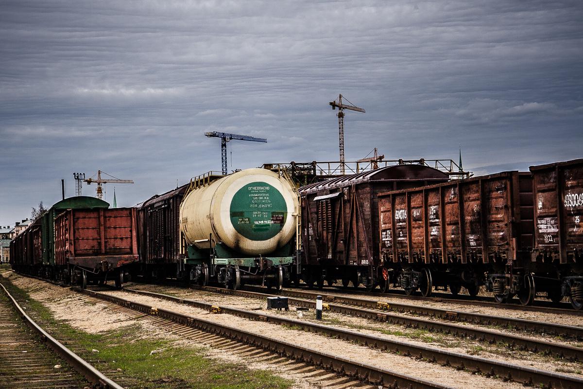 Cargo Trains Via @Atisgailis