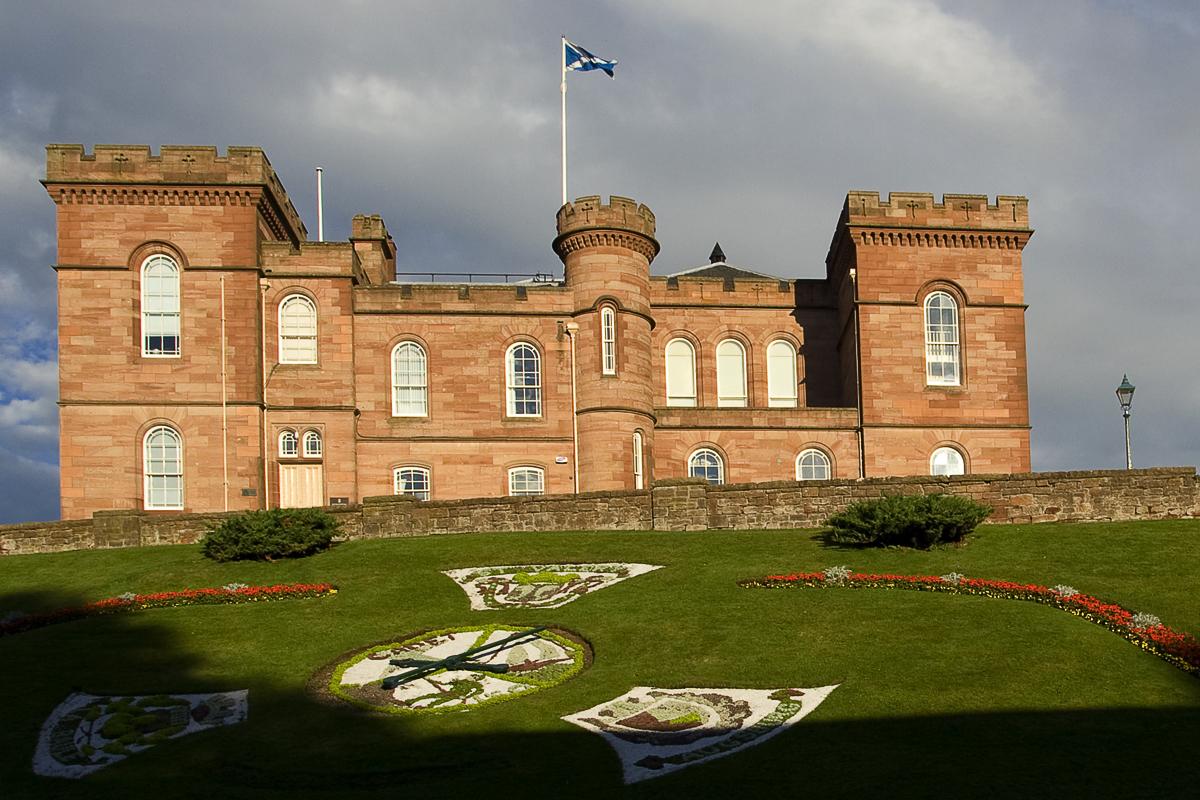 Castle Of Inverness Via @Atisgailis