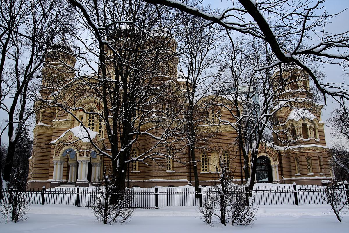 Cathedral In Winter Via @Atisgailis