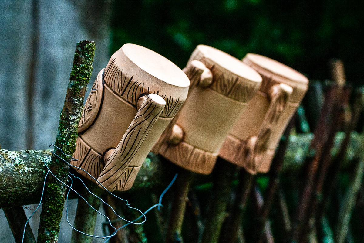Clay Cups Via @Atisgailis