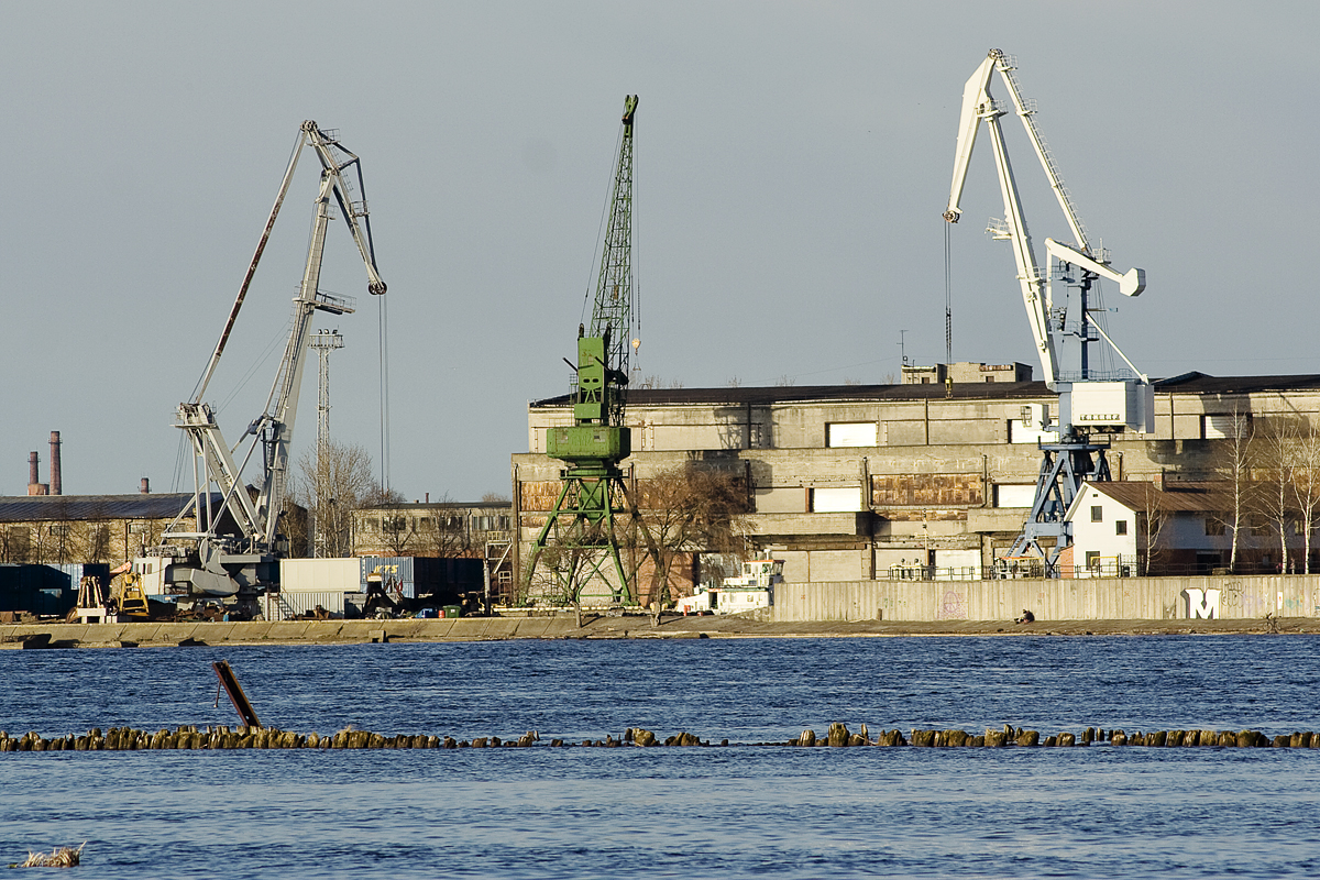 Cranes At Port Via @Atisgailis