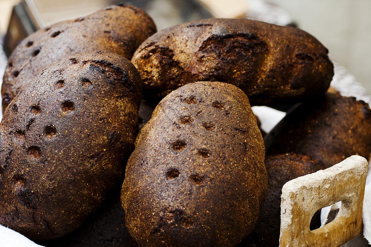 Dark Bread Via @Atisgailis