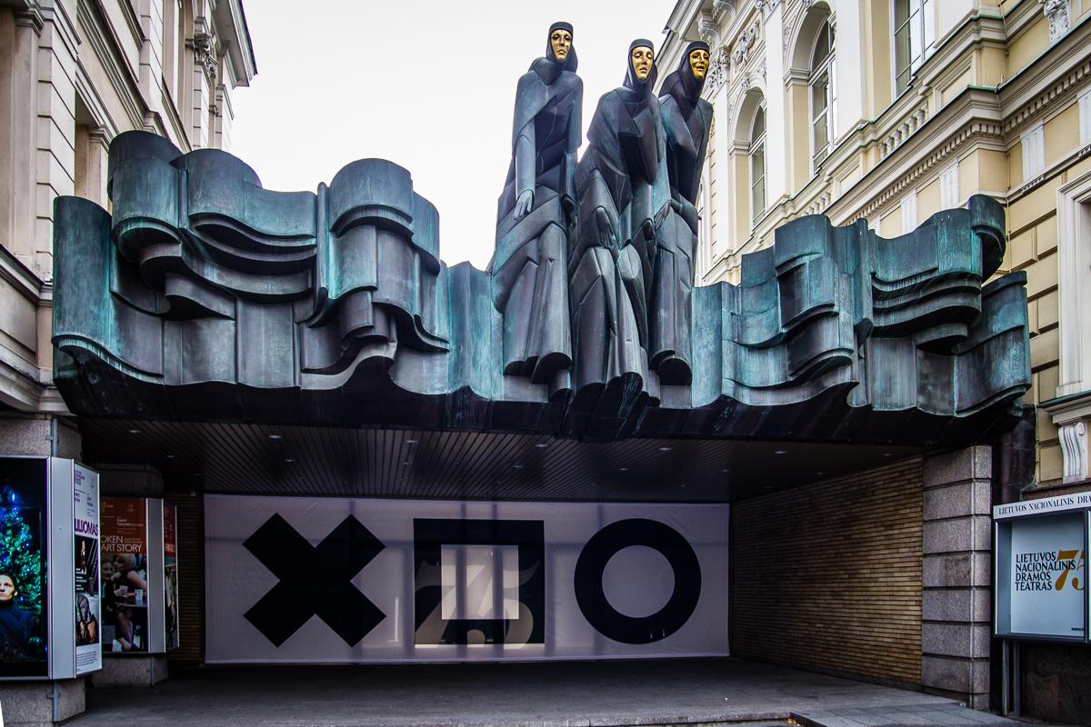 Lithuanian National Drama Theater Via @Atisgailis