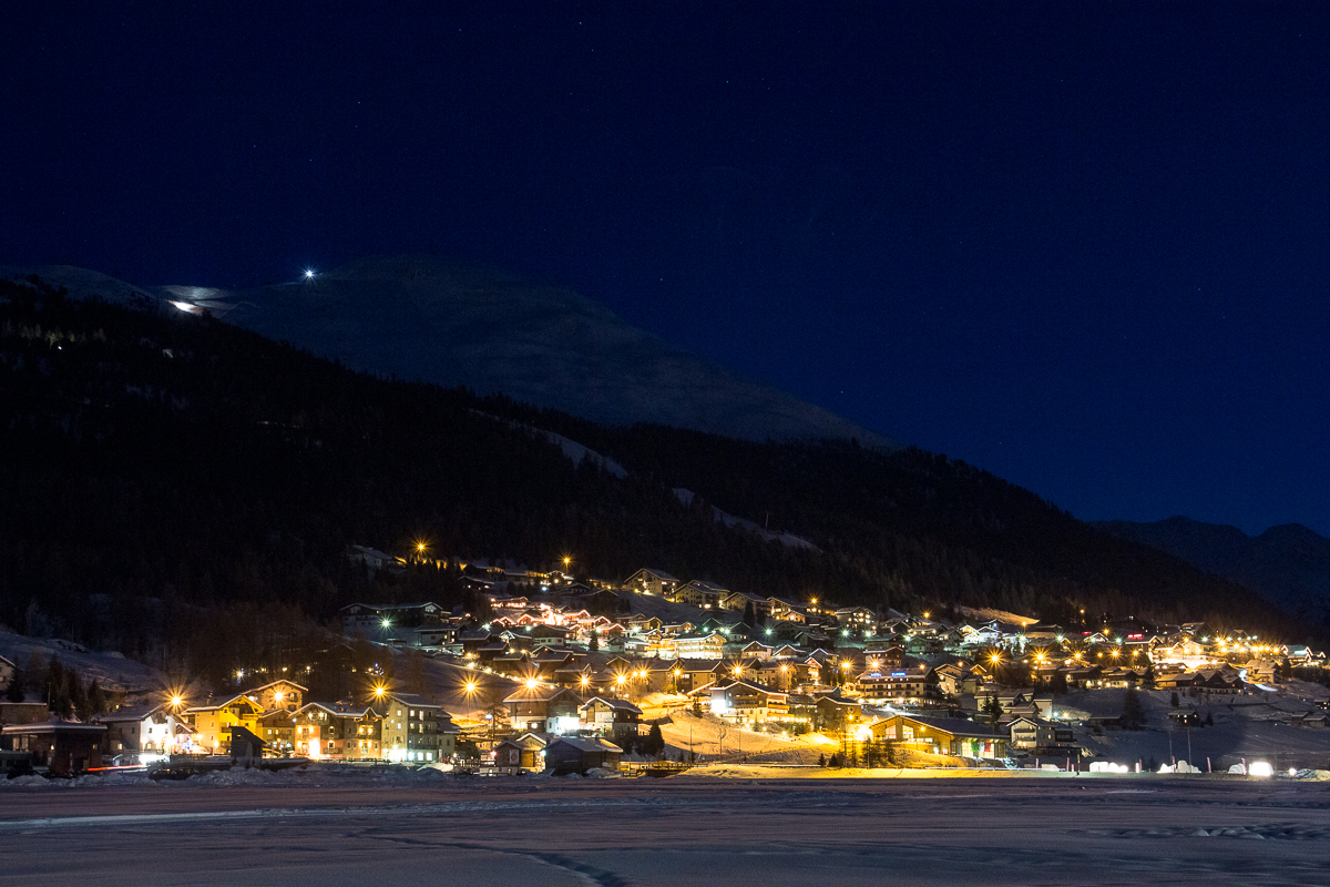 Livigno At Night Via @Atisgailis