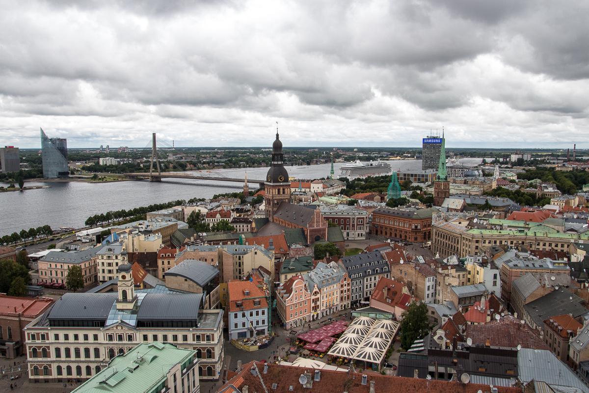 Old Riga From Above Via @Atisgailis