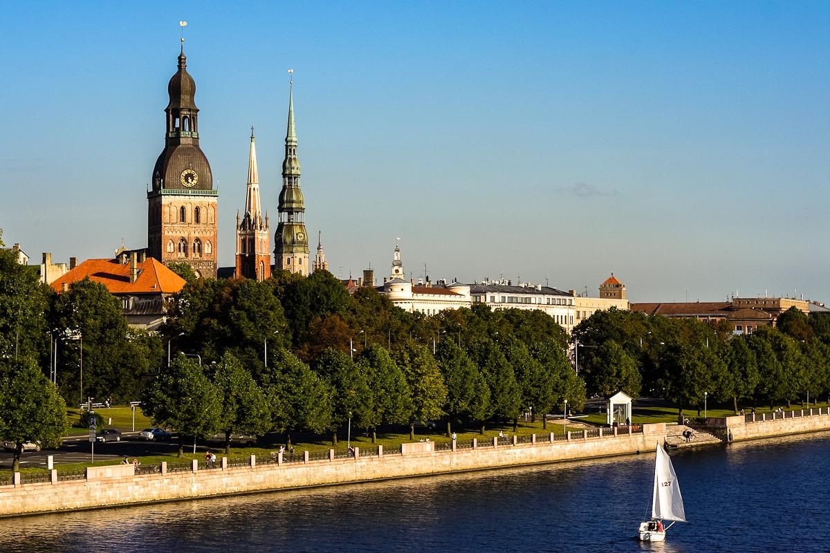 Old Riga In Summer Via @Atisgailis