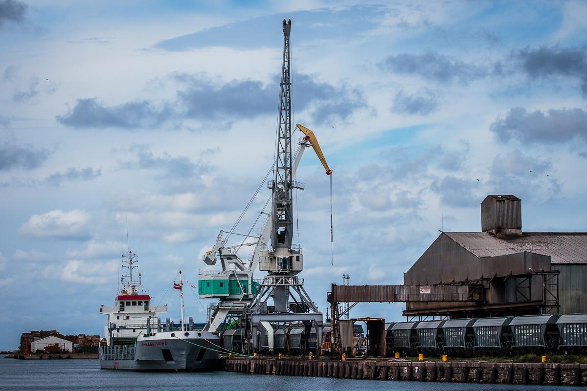 Port Of Liepāja Via @Atisgailis