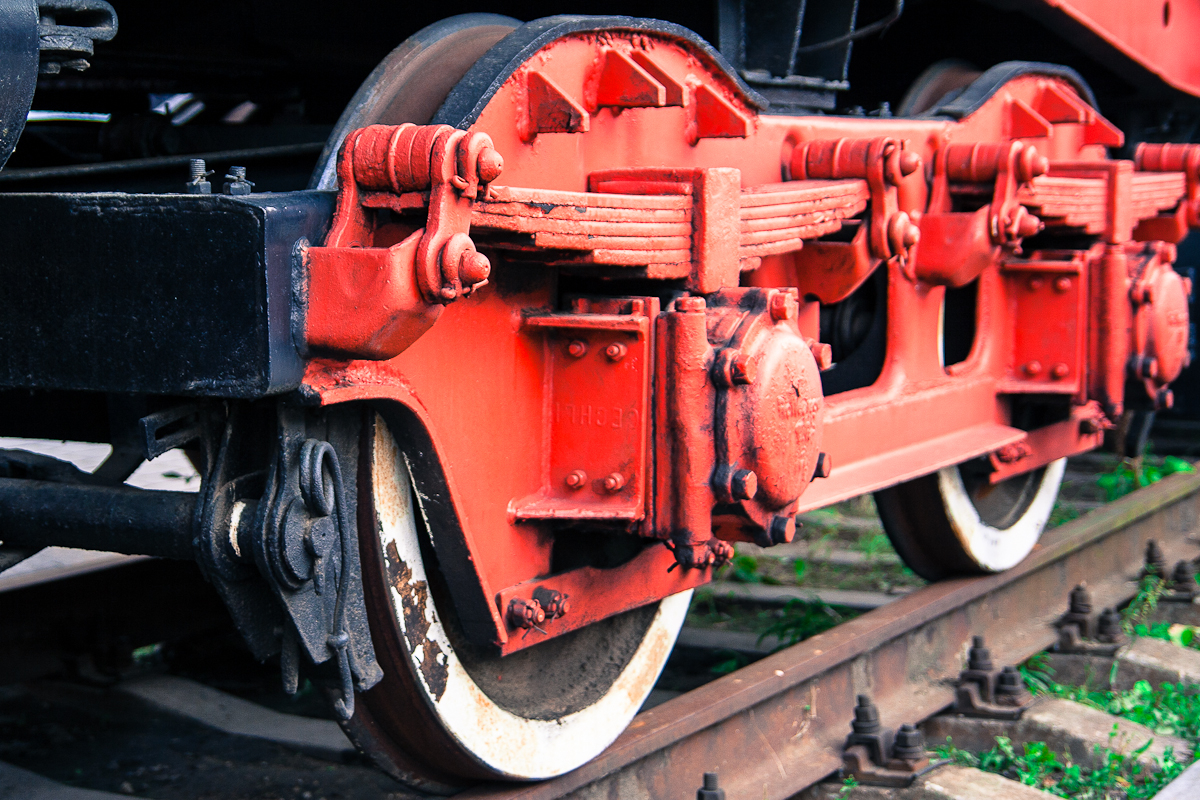 Red Train Wheels Via @Atisgailis
