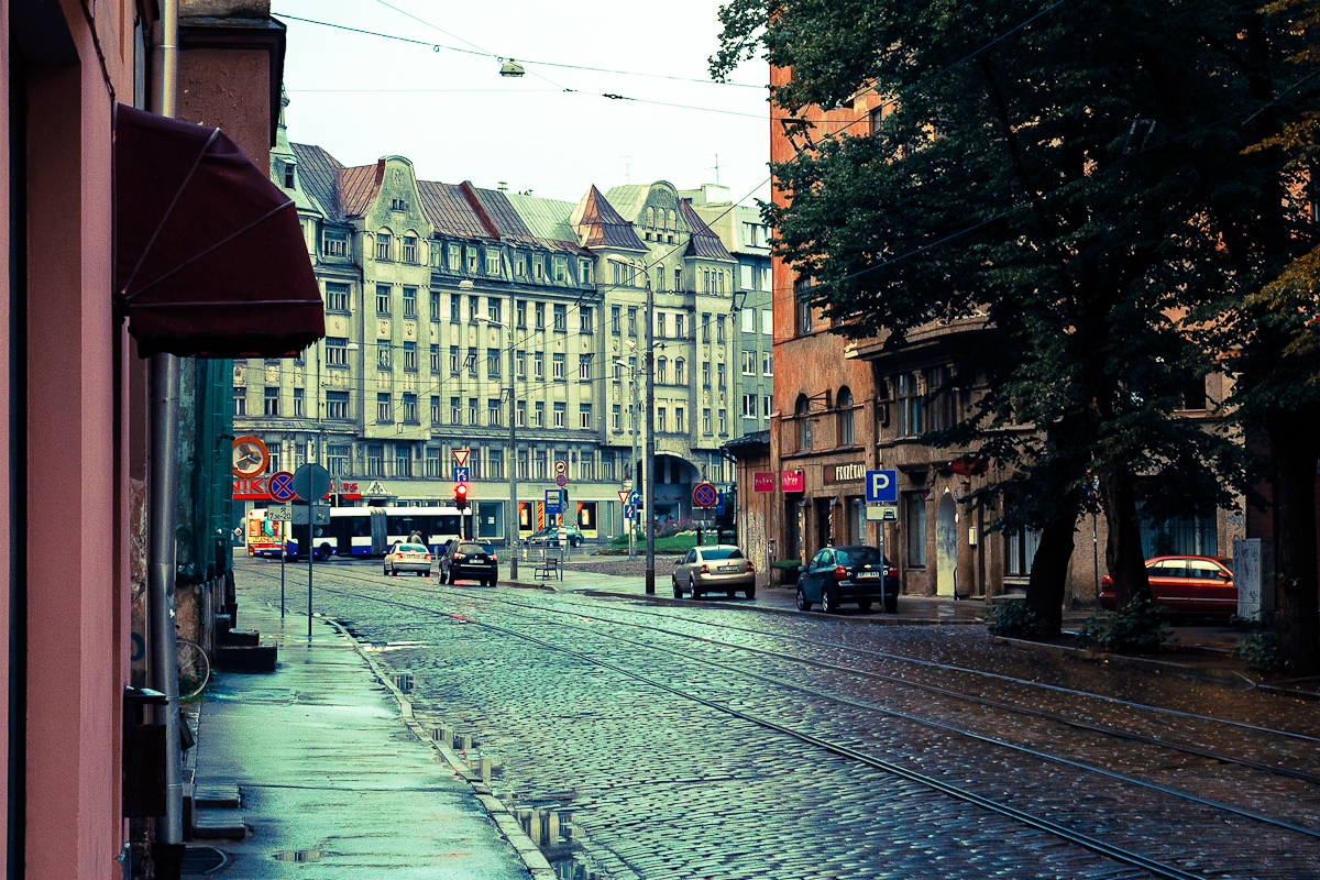 Riga After Rain Via @Atisgailis