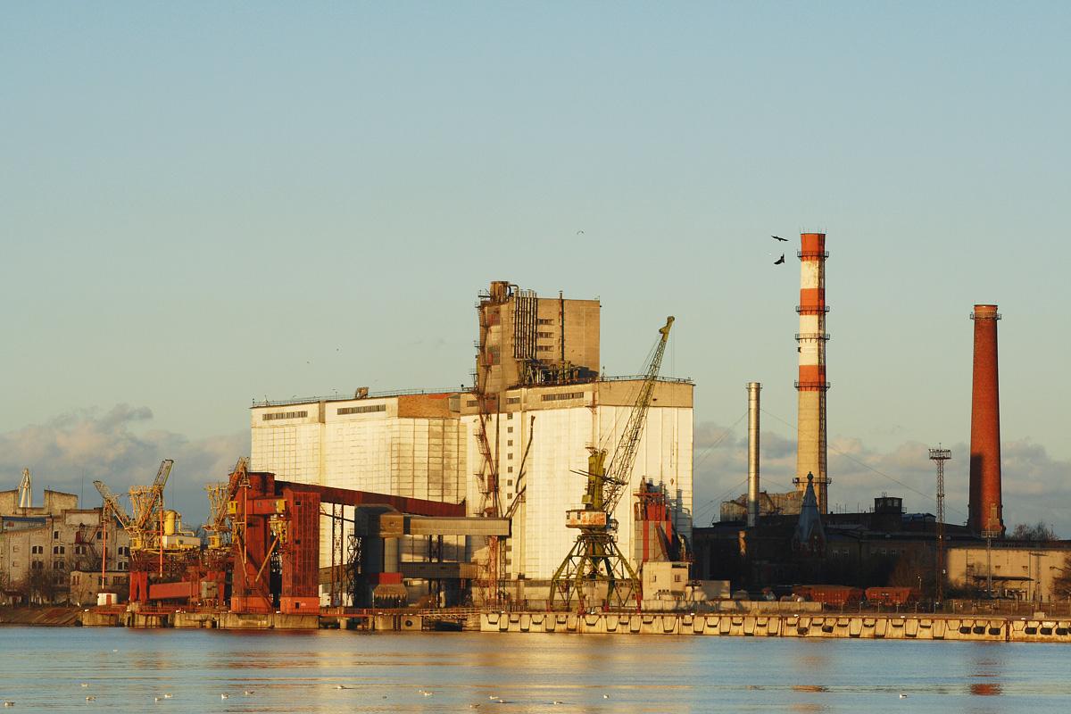 Riga Port Via @Atisgailis