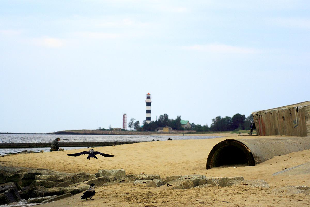 Seaside With The Lighthouse Via @Atisgailis