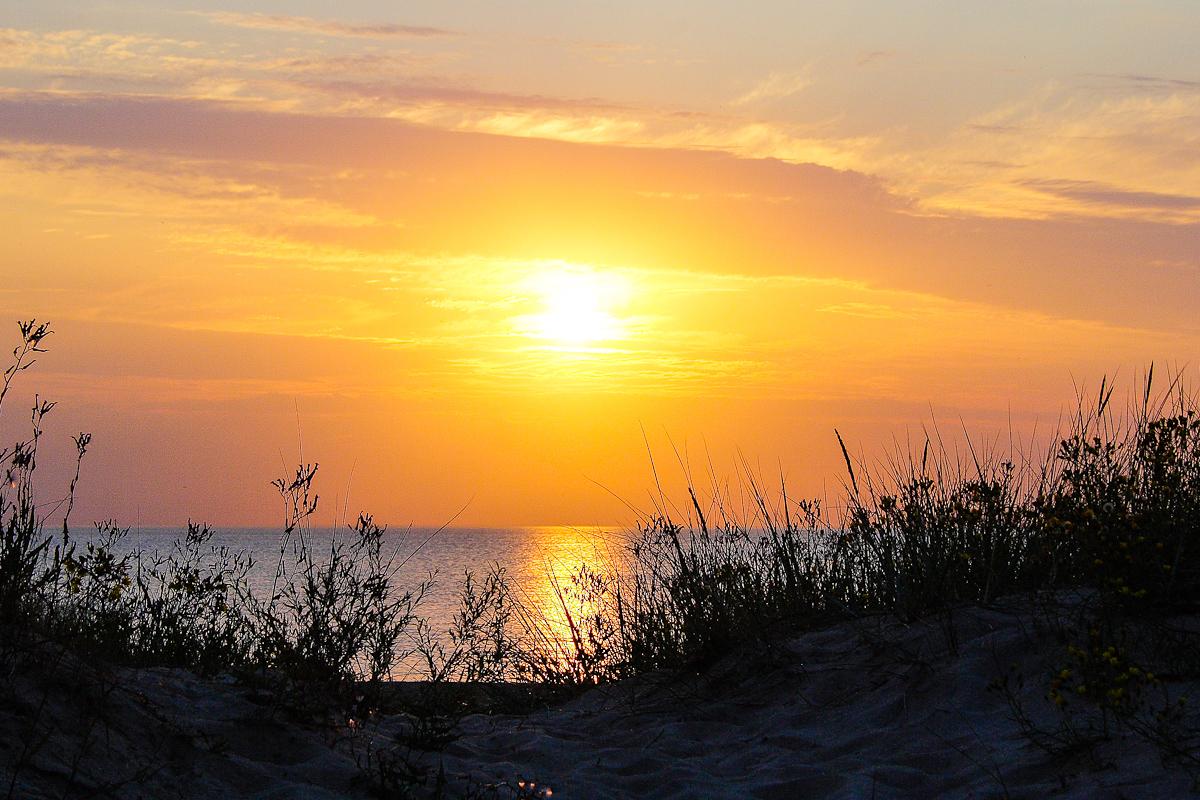 Sunset At Sea Via @Atisgailis