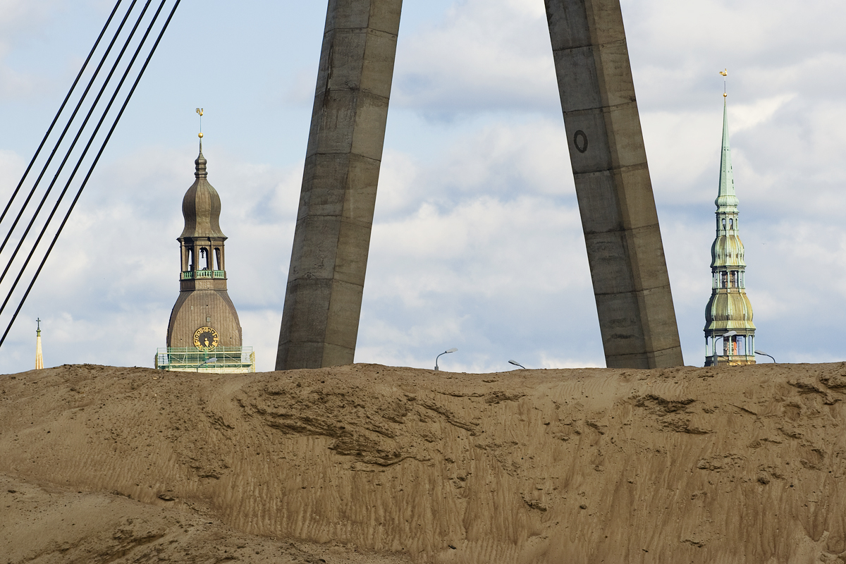 Towers Of Old Riga Via @Atisgailis