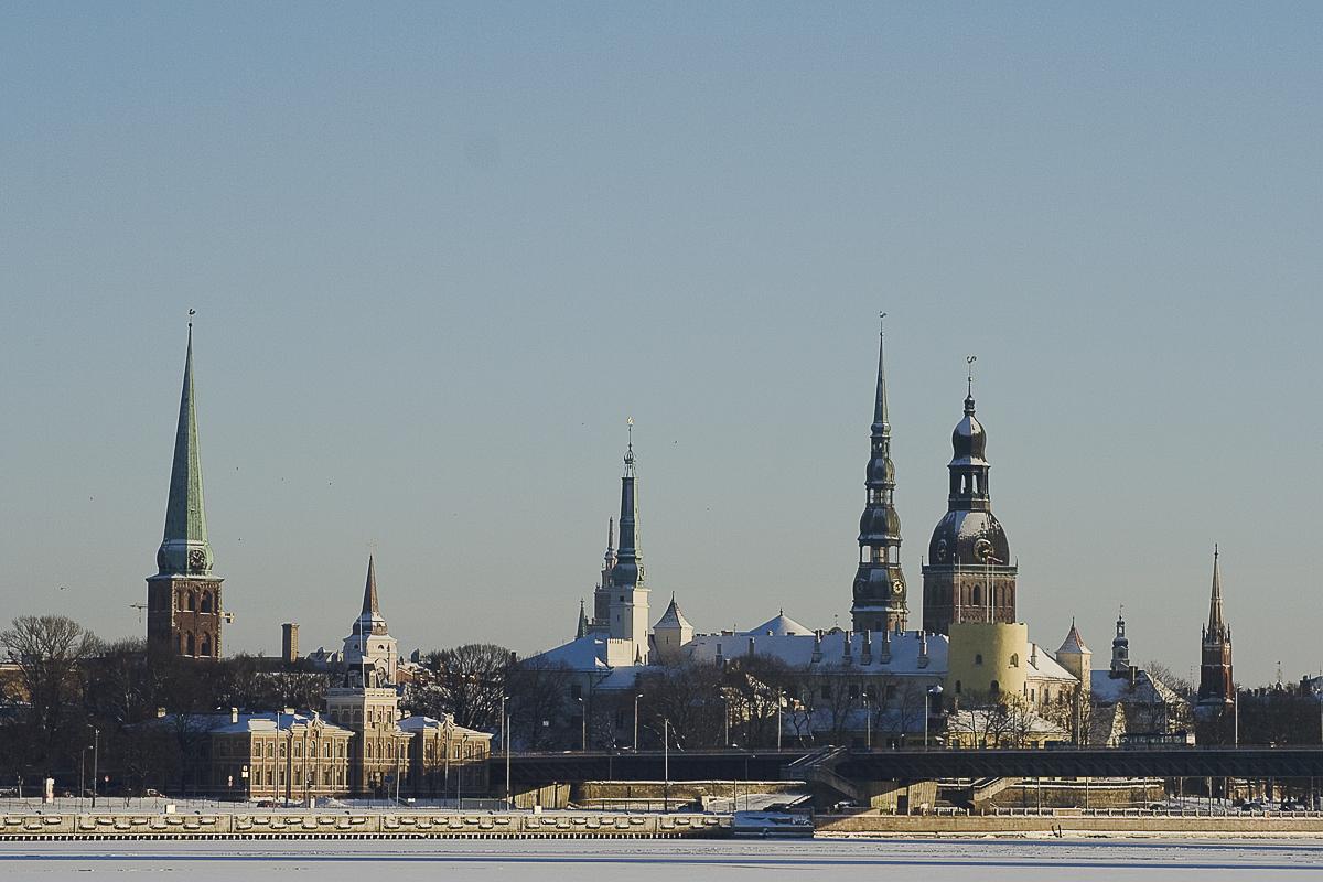 Towers Of Riga Via @Atisgailis