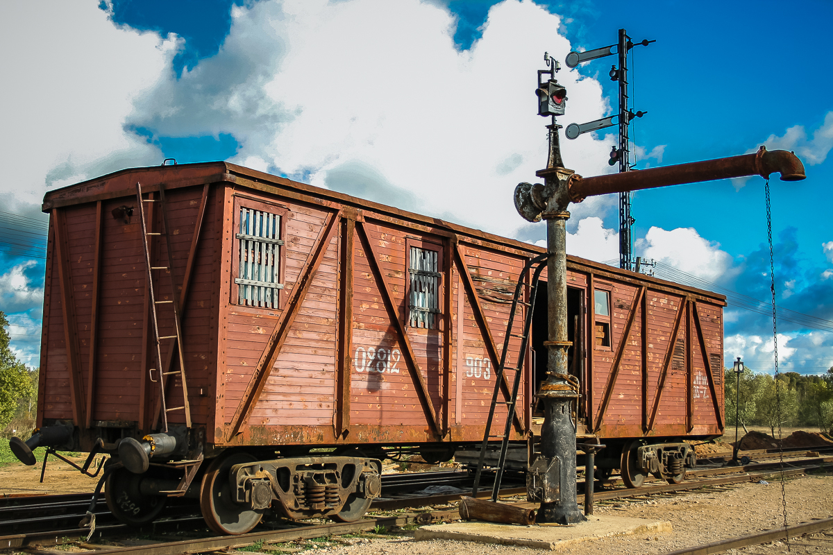 Train Wagon Via @Atisgailis