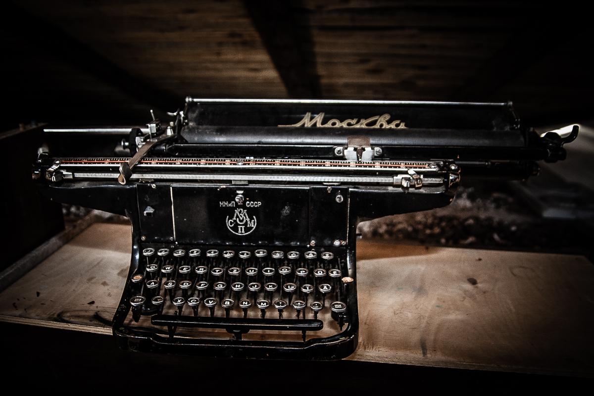 Typewriter «Москва» Via @Atisgailis