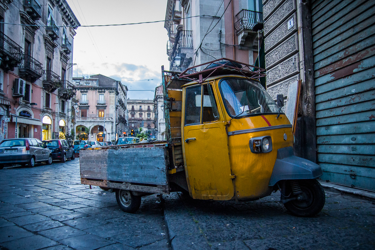Yellow Tricycle Car Via @Atisgailis