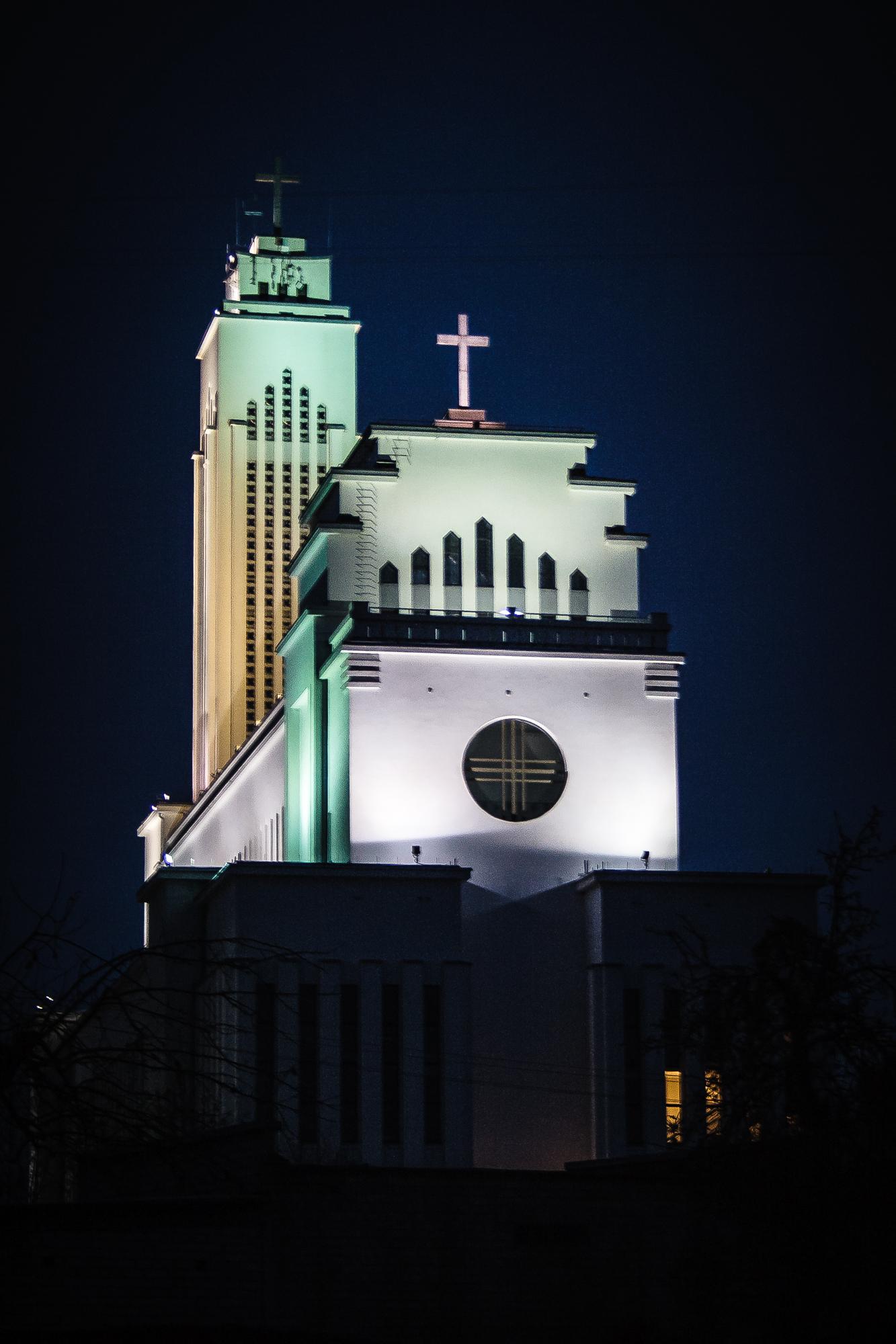 Christs Resurrection Church At Night Via @Atisgailis