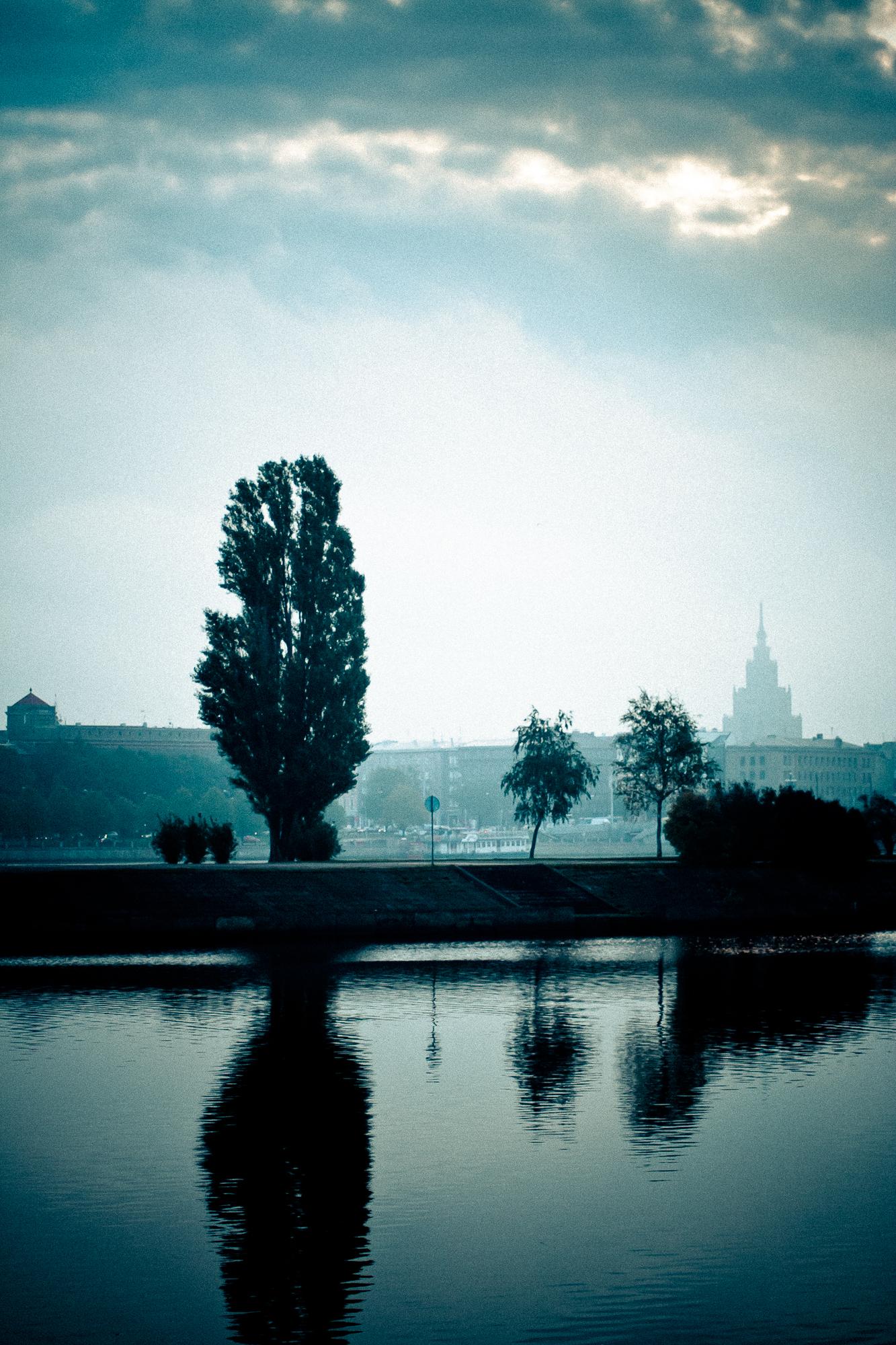 Mist Over Riga In Morning Via @Atisgailis