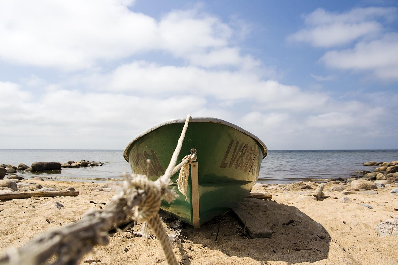 Green Boat Via @Atisgailis