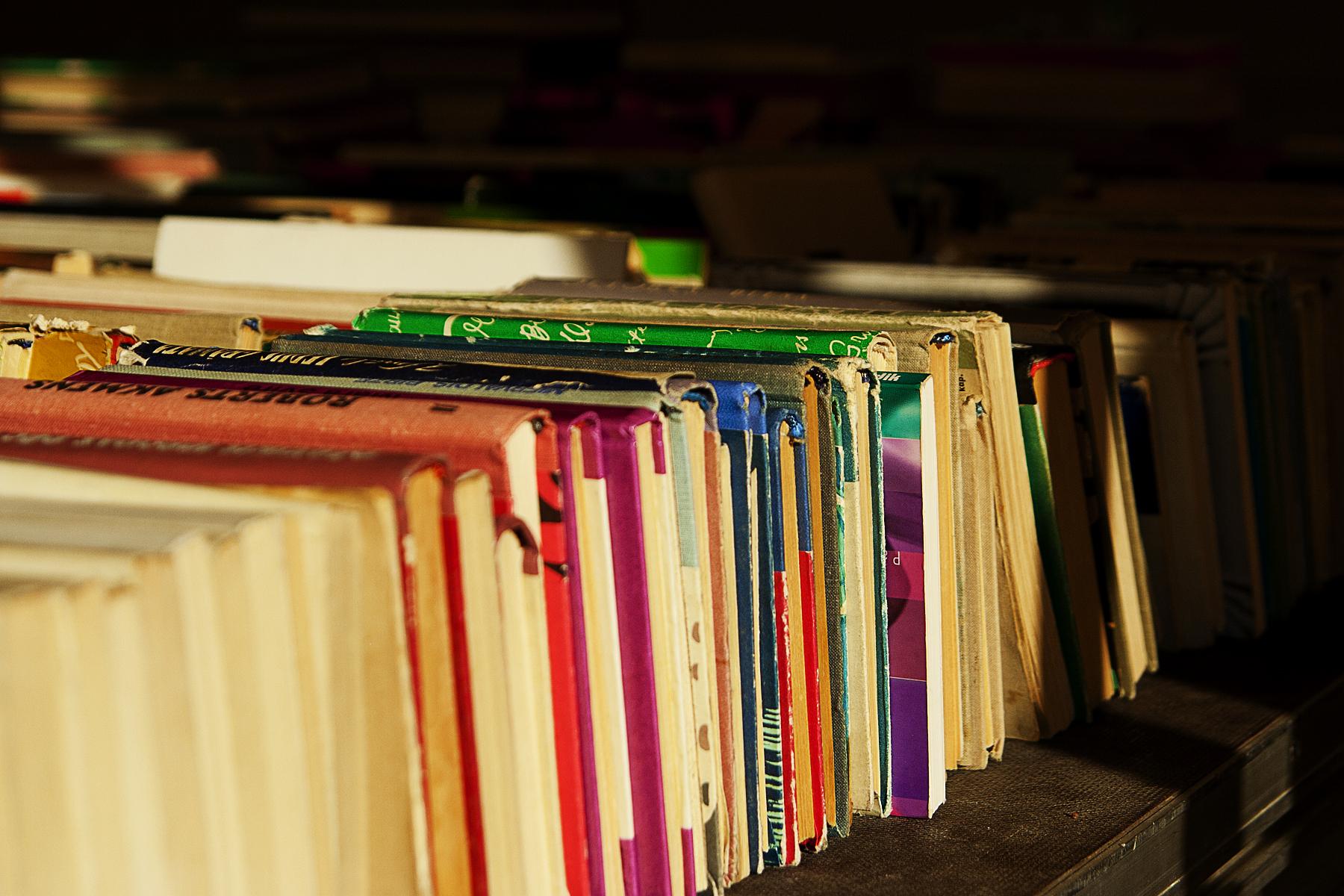 Colorful Books Via @Atisgailis