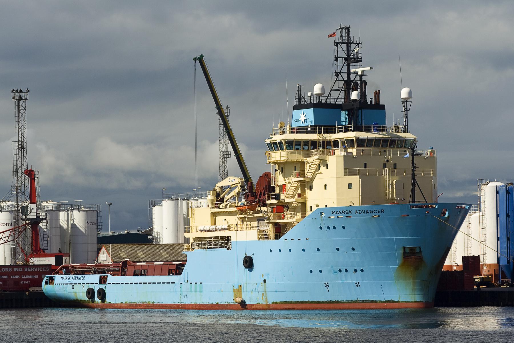 Maersk Advancer Via @Atisgailis