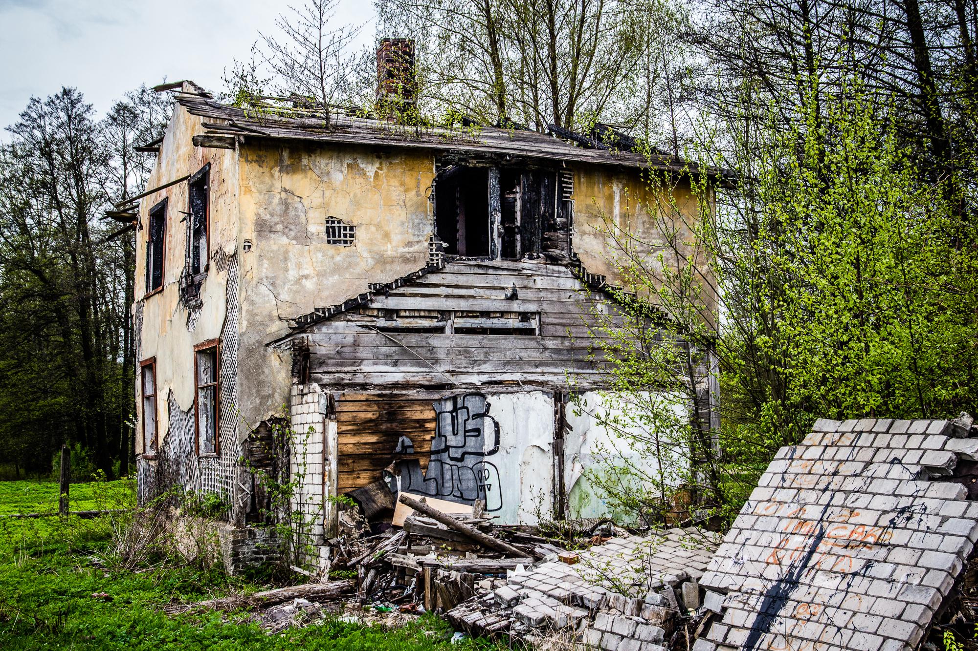Abandoned House Via @Atisgailis