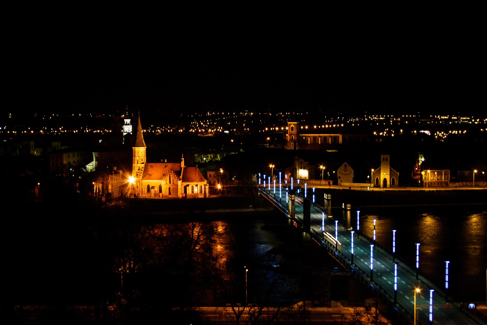 Kaunas At Night Via @Atisgailis