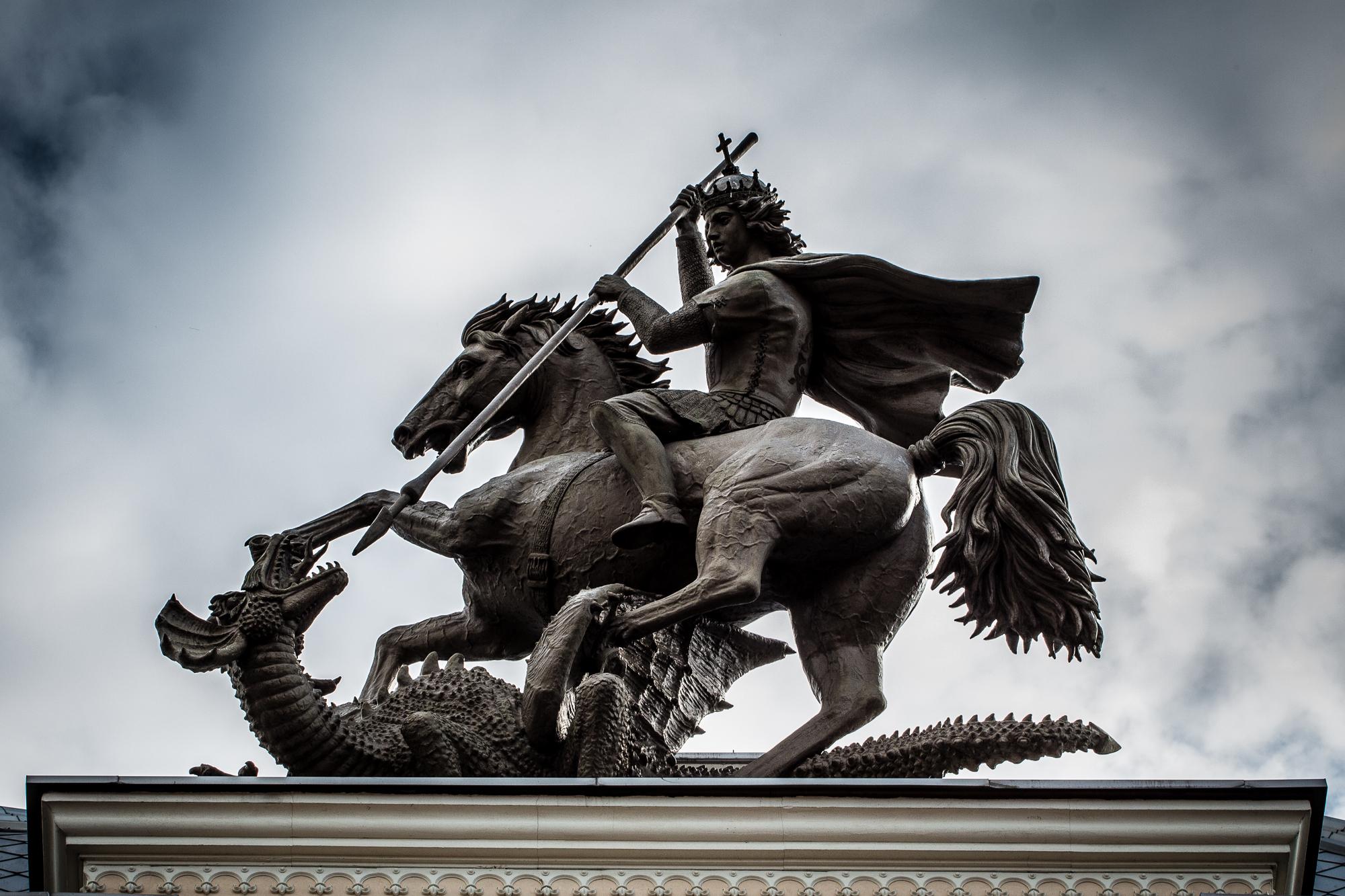 St. George Kills The Dragon Via @Atisgailis