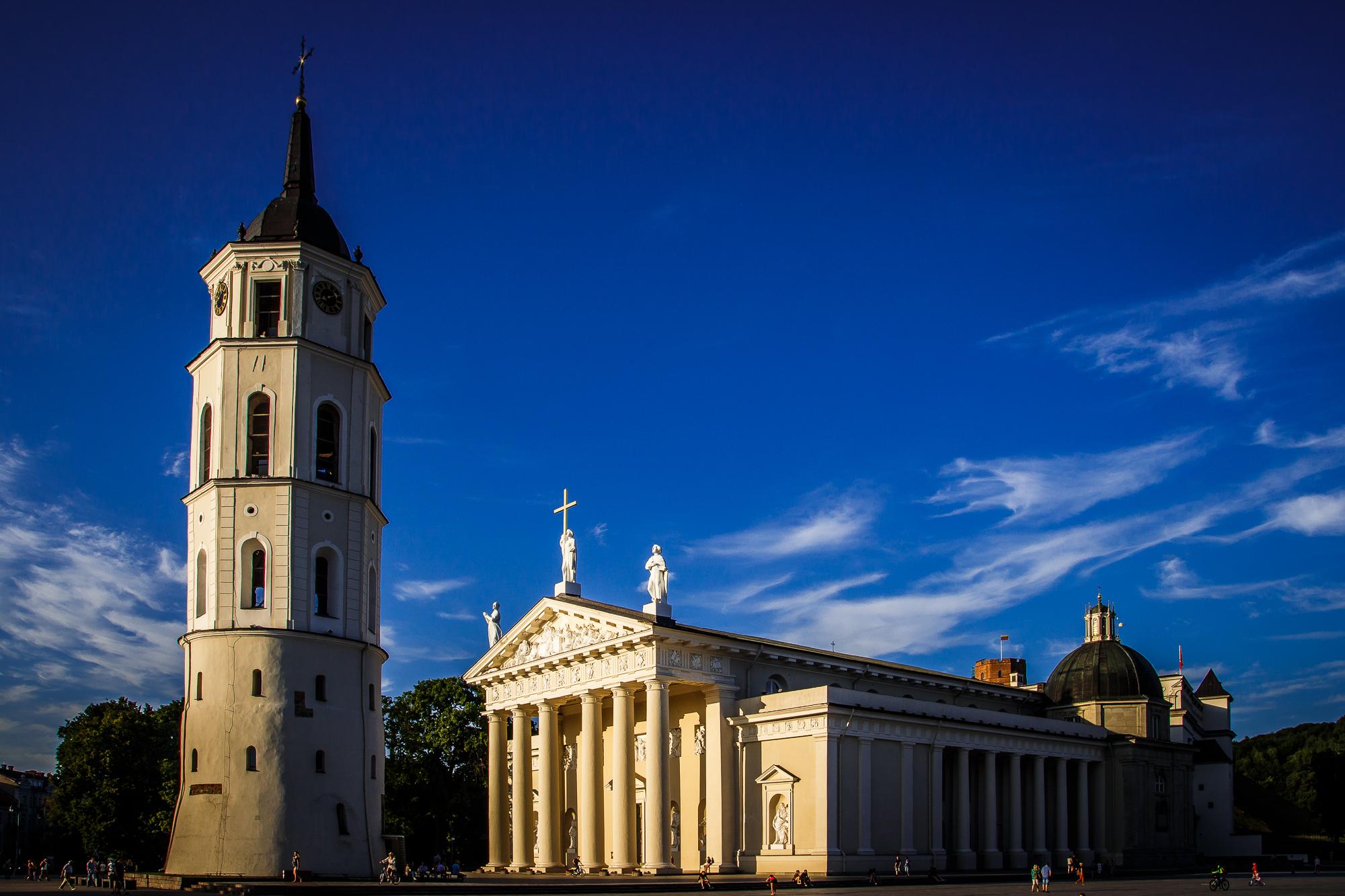 Vilnius Cathedral Via @Atisgailis