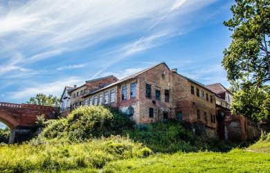 Abandoned Brick House