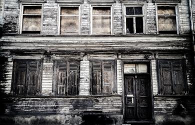 Abandoned House On Smiļģa Street