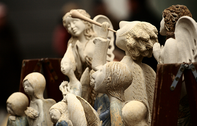 Clay angels