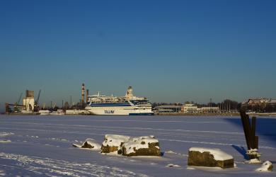 Frozen port