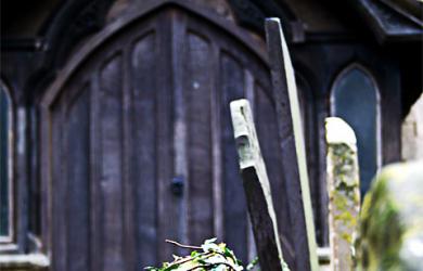 Gravestone Near Uppingham Church