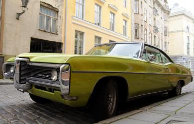 Green Pontiac
