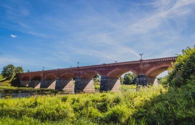 Kuldīga Brick Bridge