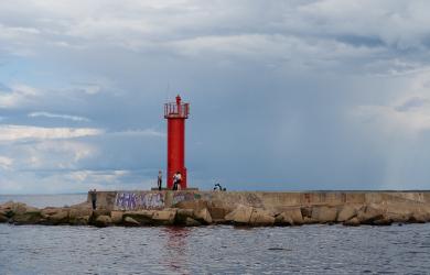 Mangaļsala lighthouse