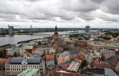 Old Riga from above
