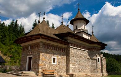 Small Romanian Church