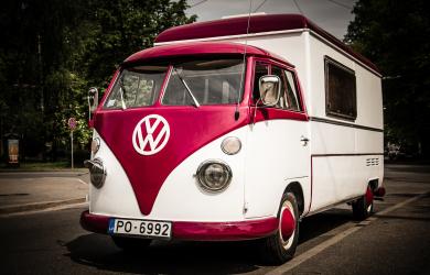 Oldschool Volkswagen bus