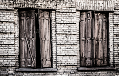 Windows Of Abandoned House
