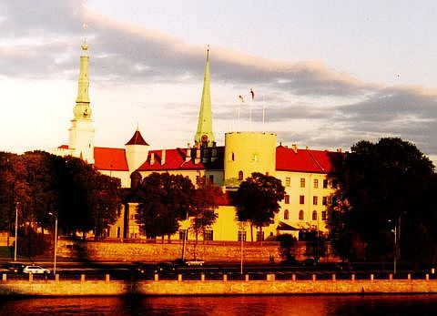 Riga Castle, Home Of President Of Latvia Via @Atisgailis